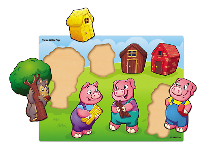 Three Little Pigs Puzzle at Lakeshore Learning