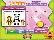 Early Measurement Plinko Interactive Game
