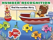 Catch-To-Learn Number Recognition Interactive Games