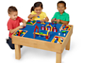Brick-Building Activity Table