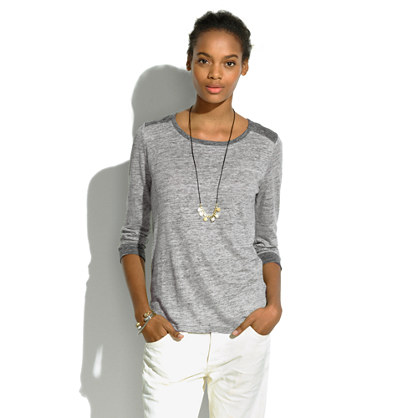 Linen Brimfield Tee in Colorblock