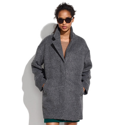 Brushed Oversized Coat