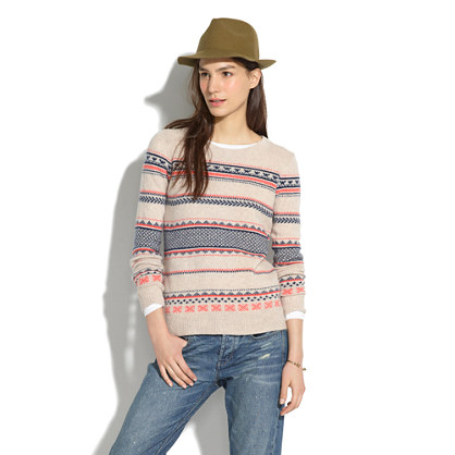 The Total Prepster : Let's Talk: Fair Isle Sweaters