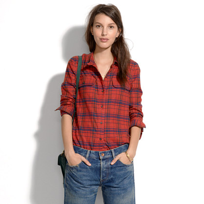 Flannel Tomboy Workshirt in Plaid