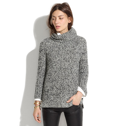 Madewell Marled Turtleneck Sweater