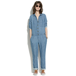 Chambray Machinist Jumpsuit