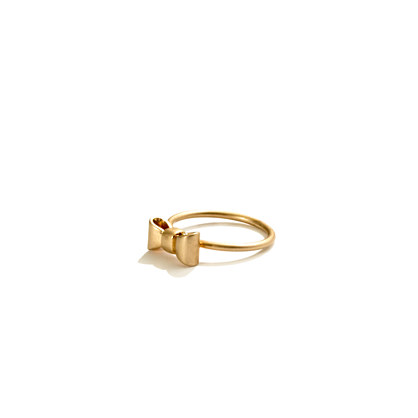 Madewell Mini Bow Ring
