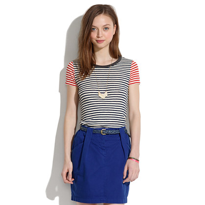 Nautical Striped Tee :  stripes shirts nautical tee
