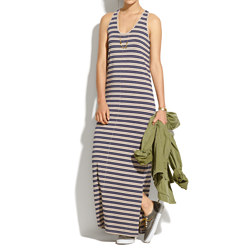 Racerback Maxidress in Stripe