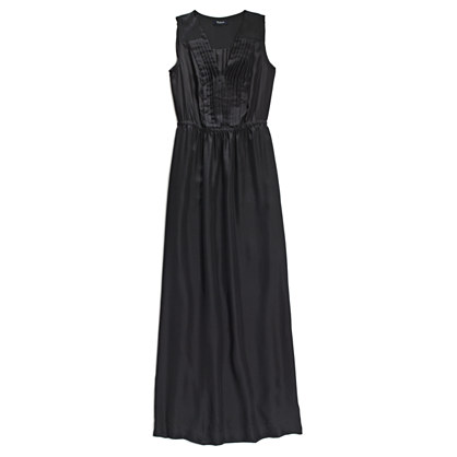 Silk Pleated Maxidress
