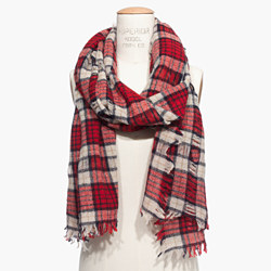 Nightglen Plaid Scarf