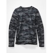 Kids' Midweight Harrier Long-Sleeve Crew image number 0