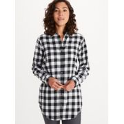 Women's Nicolet Lightweight Long-Sleeve Flannel Shirt image number 3
