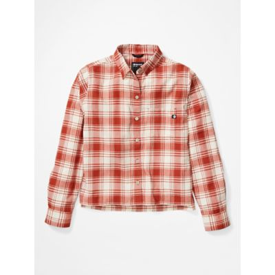 Women's Barrie Lightweight Long-Sleeve Flannel Shirt
