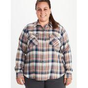 Women's Bridget Long-Sleeve Flannel Shirt Plus image number 3