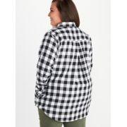 Women's Nicolet Lightweight Long-Sleeve Flannel Shirt Plus image number 4