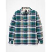 Women's Ridgefield Sherpa-Lined Long-Sleeve Flannel Shirt image number 1