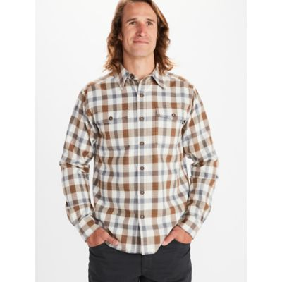 Men's Movatn Heavyweight Long-Sleeve Flannel Shirt