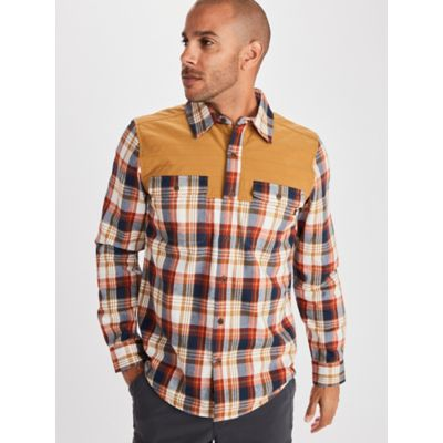 Men's Needle Peak Midweight Flannel Shirt