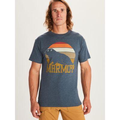 Men's Dawning Marmot Short-Sleeve T-Shirt