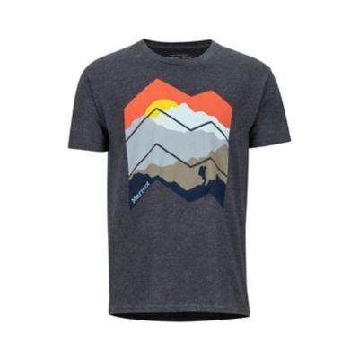 Men's Zig Zag Mountains Short-Sleeve T-Shirt