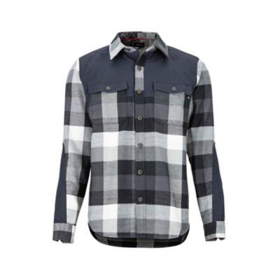 Men's Needle Peak Midweight Flannel Long-Sleeve Shirt