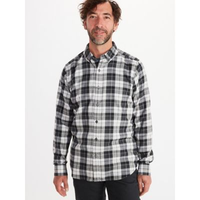 Men's Harkins Lightweight Flannel Long-Sleeve Shirt