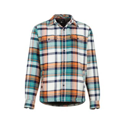 Men's Ridgefield Heavyweight Flannel Long-Sleeve Shirt