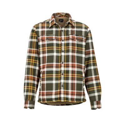 Men's Ridgefield Heavyweight Flannel Long-Sleeve Shirt