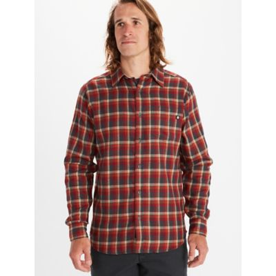 Men's Fairfax Midweight Flannel Long-Sleeve Shirt