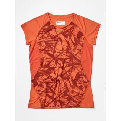 Women's Crystal Short-Sleeve Shirt