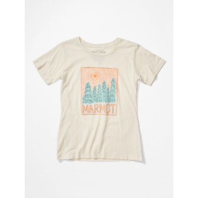 Women's Woodblock Short-Sleeve T-Shirt