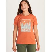 Women's Woodblock Short-Sleeve T-Shirt image number 2
