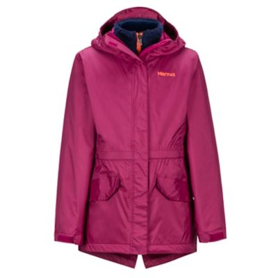Girls' Precip® Eco Component 3-in-1 Jacket