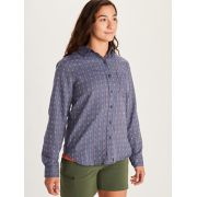 Women's Seaside Ultra Lightweight Flannel Long-Sleeve Shirt image number 2