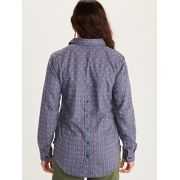Women's Seaside Ultra Lightweight Flannel Long-Sleeve Shirt image number 3