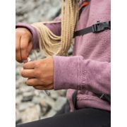 Women's Crew Neck Sherpa Sweatshirt image number 7