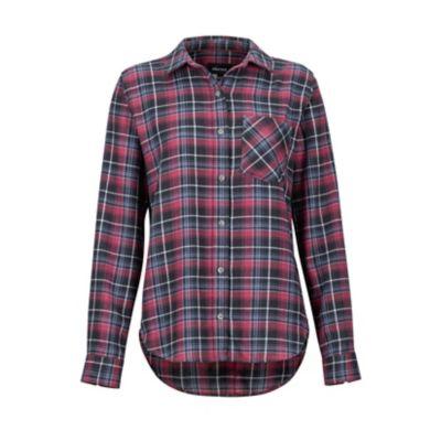 Women's Maggie Lightweight Flannel Long-Sleeve Shirt