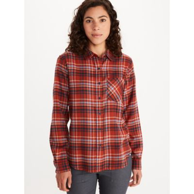 Women's Maggie Lightweight Flannel Long-Sleeve Shirt