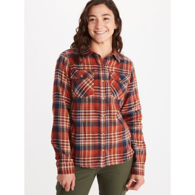 Women's Bridget Midweight Flannel Long-Sleeve Shirt