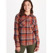 Women's Bridget Midweight Flannel Long-Sleeve Shirt image number 3