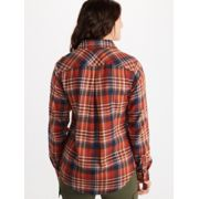 Women's Bridget Midweight Flannel Long-Sleeve Shirt image number 4