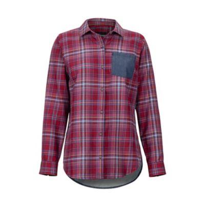 Women's Lakota Lightweight Flannel Long-Sleeve Shirt