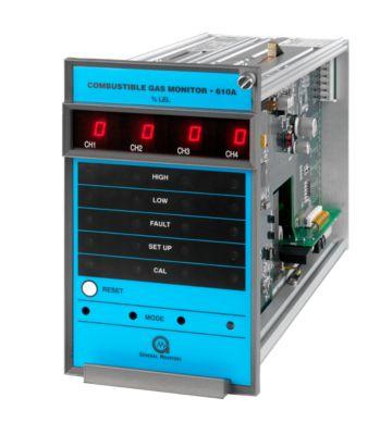 Monitor de gases combustibles de cuatro canales 610A