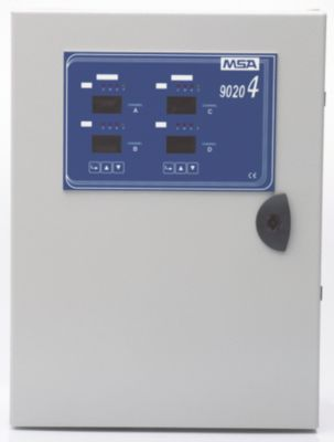 9020-4 LCD Gas Warning System for Marine Applications