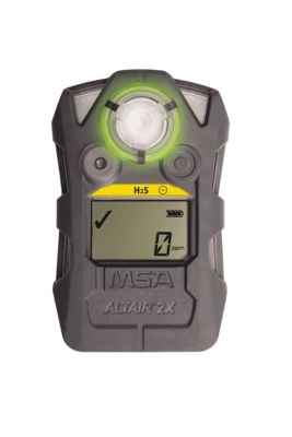 MSA ALTAIR® 2X Gas Detector in charcoal grey color