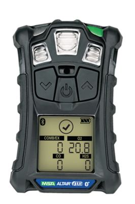 MSA ALTAIR 4XR Gas Detector in charcoal grey color
