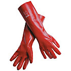 Fully Coated Single Dipped PVC Gloves