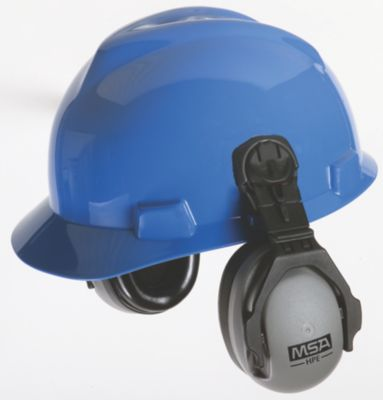 MSA 10129327 FULL BRIM Hard Hat Earmuff Attachment Hearing Protection ONLY
