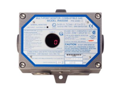 IR4000M Multi-Point Gas Monitor